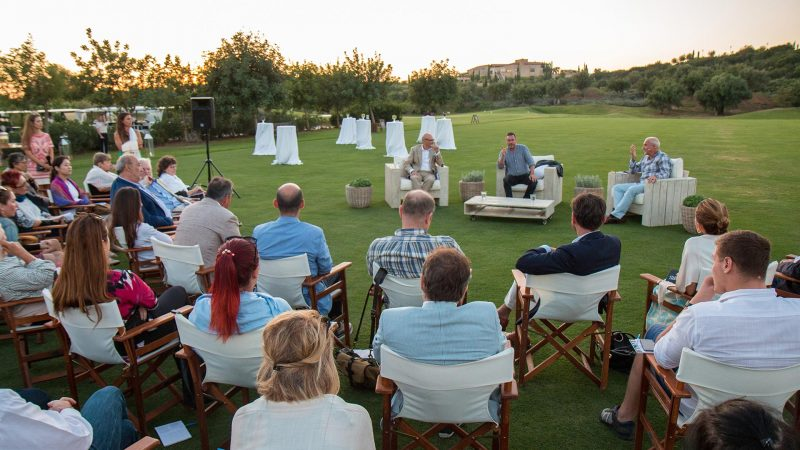 'Democracy and Books' weekend at Costa Navarino,  14-16 September