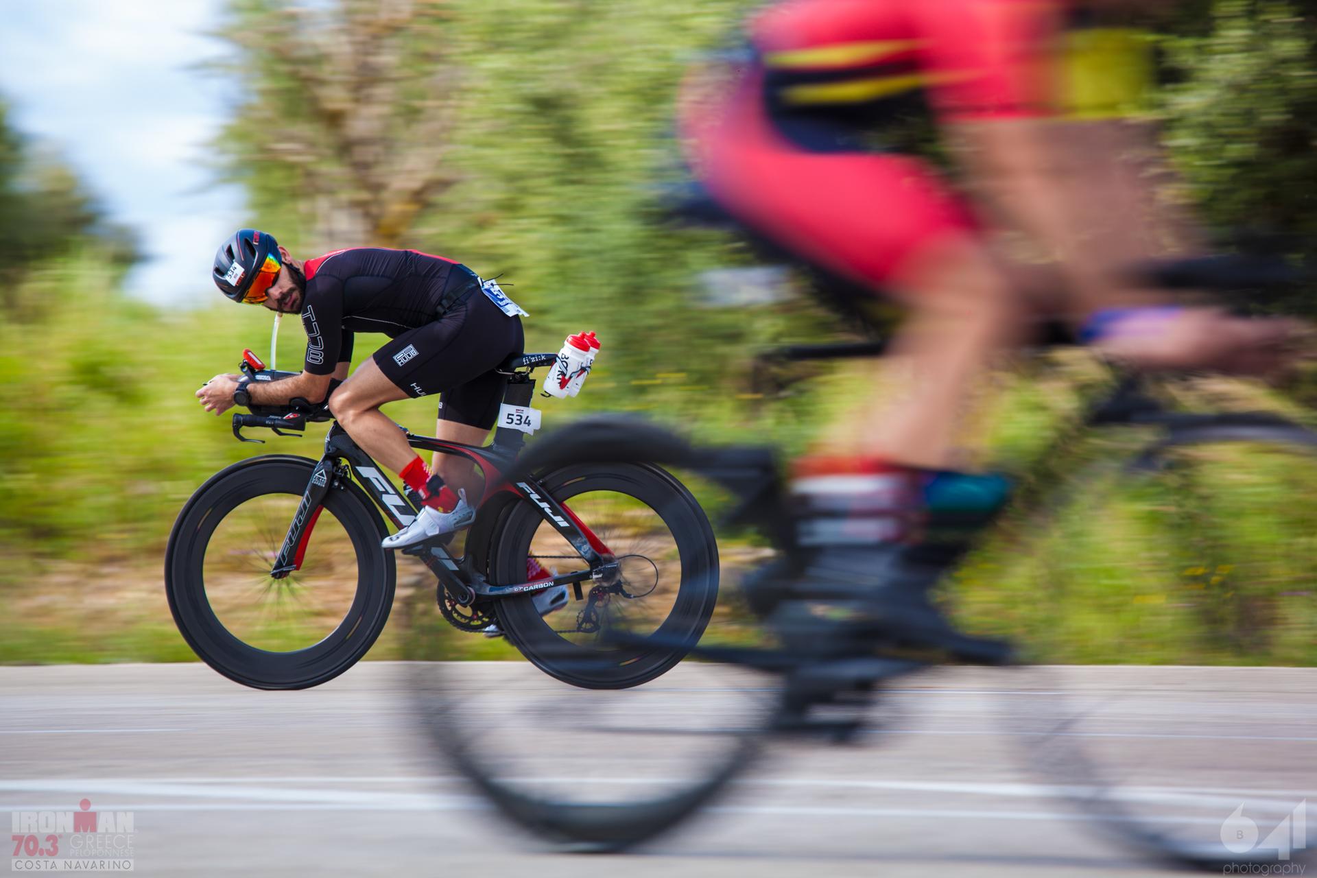 90 km bike ride