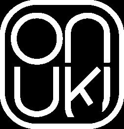 onuki logo white